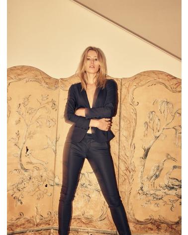 Mos Mosh BLAKE Night Blazer i bæredygtig kvalitet her på model