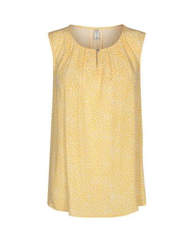 Super sød sommertop i gult print fra Soyaconcept. Soyaconcept Immely 1 Top