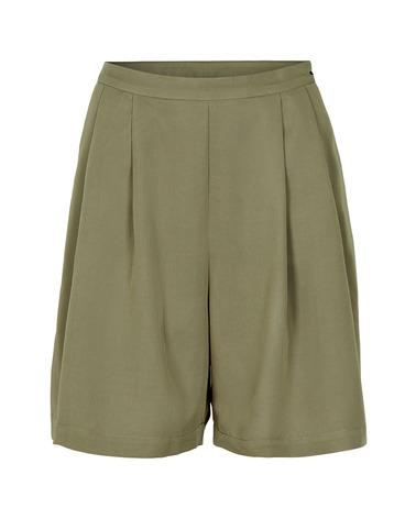 Klassiske pæne shorts med lægs. Nümph NuKiran Shorts I olivengrøn nuance