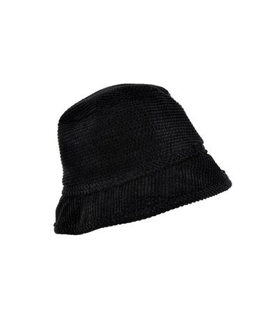 Skøn bøllehat i fløjs-look. Nümph NuMillicent Hat i farven caviar