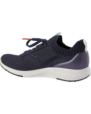 Skønne letvægts-sneakers i flot navy nuance med mintfarvede detaljer. Tamaris Sneakers 1/1-23714/24