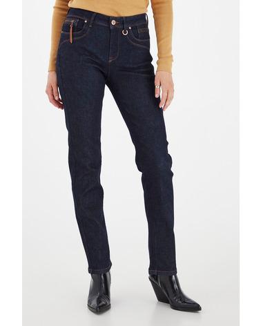 Smarte jeans i et regular fit. Pulz Emma Jeans 50205580