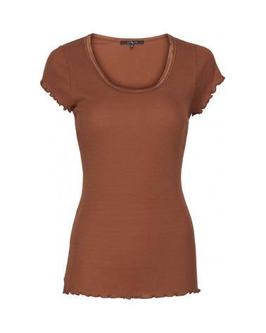 En god basistop med hele 70% silke. Den findes i 3 flotte efterårsnuancer. BTFCPH Basic Jersey T-shirt