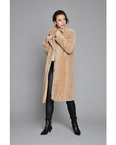 BTFCPH Faux Camel Coat