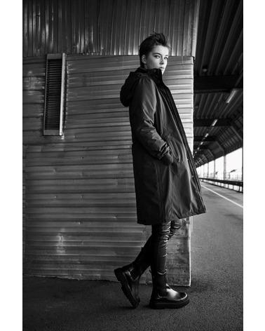 BTFCPH Function Jacket. Function jakken er både regn- og vindtæt og kan klare de koldeste temperaturer. Ses her i farven sort.